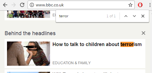 bbc on the day or terror attacks on muslims